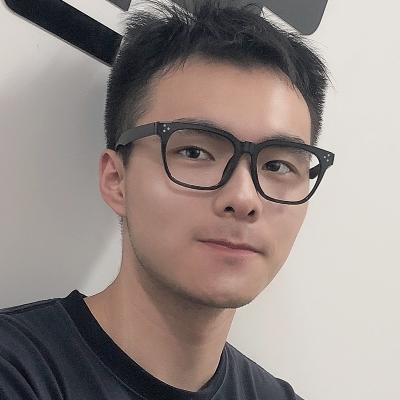 OULE 大脸方框潮流近视眼镜 超轻TR90方形复古素颜眼镜架 黑蓝色