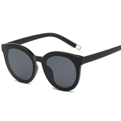 OULE GM同款太阳镜 男女潮流复古韩版时尚网红墨镜 黑色